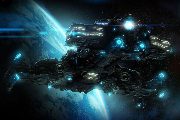 Battlecruiser Hyperion of StarCraft II