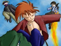 Megatokyo: Japan Invasion ~ Colored Thumbnail