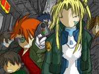 Megatokyo: UpaboveStation~Colored Thumbnail